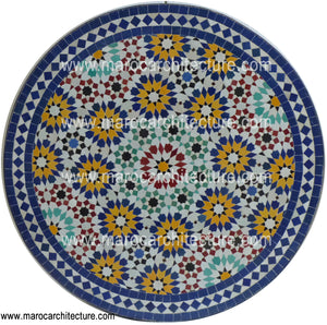 Fez Moroccan Mosaic Table Top 8182