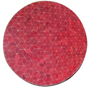Rhomboid Moroccan Mosaic Table Top 4182
