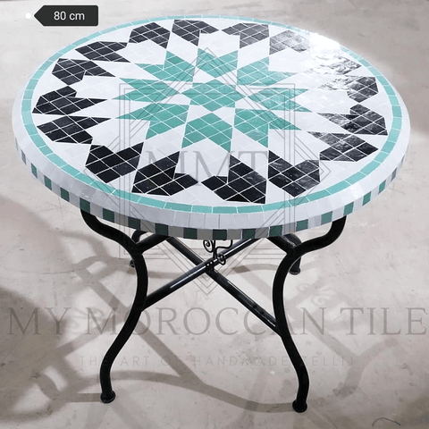 Handmade Moroccan Mosaic Table 2111-03