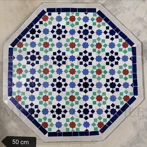 Handmade Moroccan Mosaic Table 2108-18