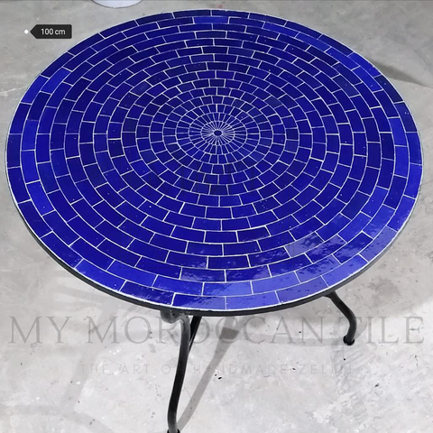Handmade Moroccan Mosaic Table 2124T-02