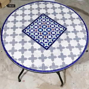 Handmade Moroccan Mosaic Table 2106-10
