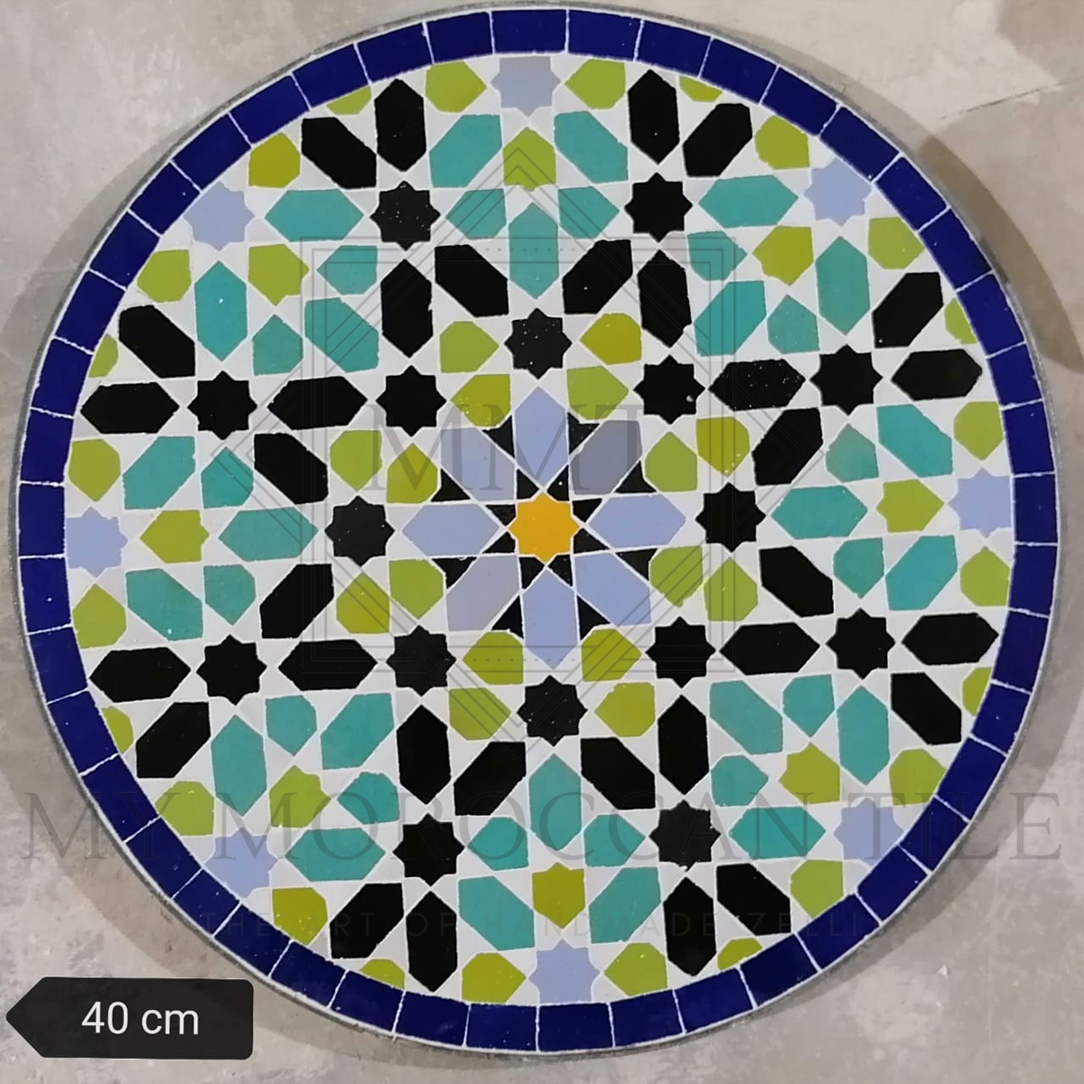 Handmade Moroccan Mosaic Table 2108-13