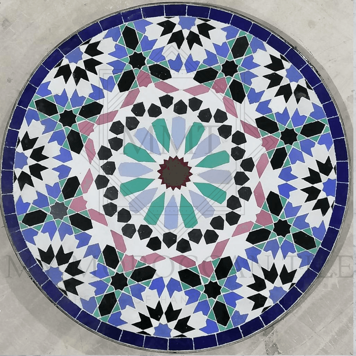 Handmade Moroccan Mosaic Table 2116-05