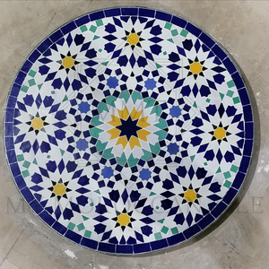Handmade Moroccan Mosaic Table 2108-09