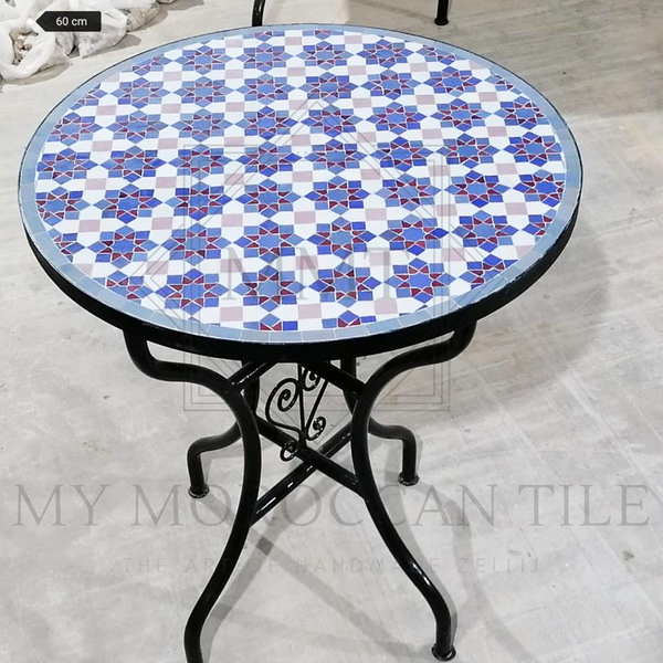 Handmade Moroccan Mosaic Table 2108-03