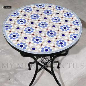 Handmade Moroccan Mosaic Table 2108-02