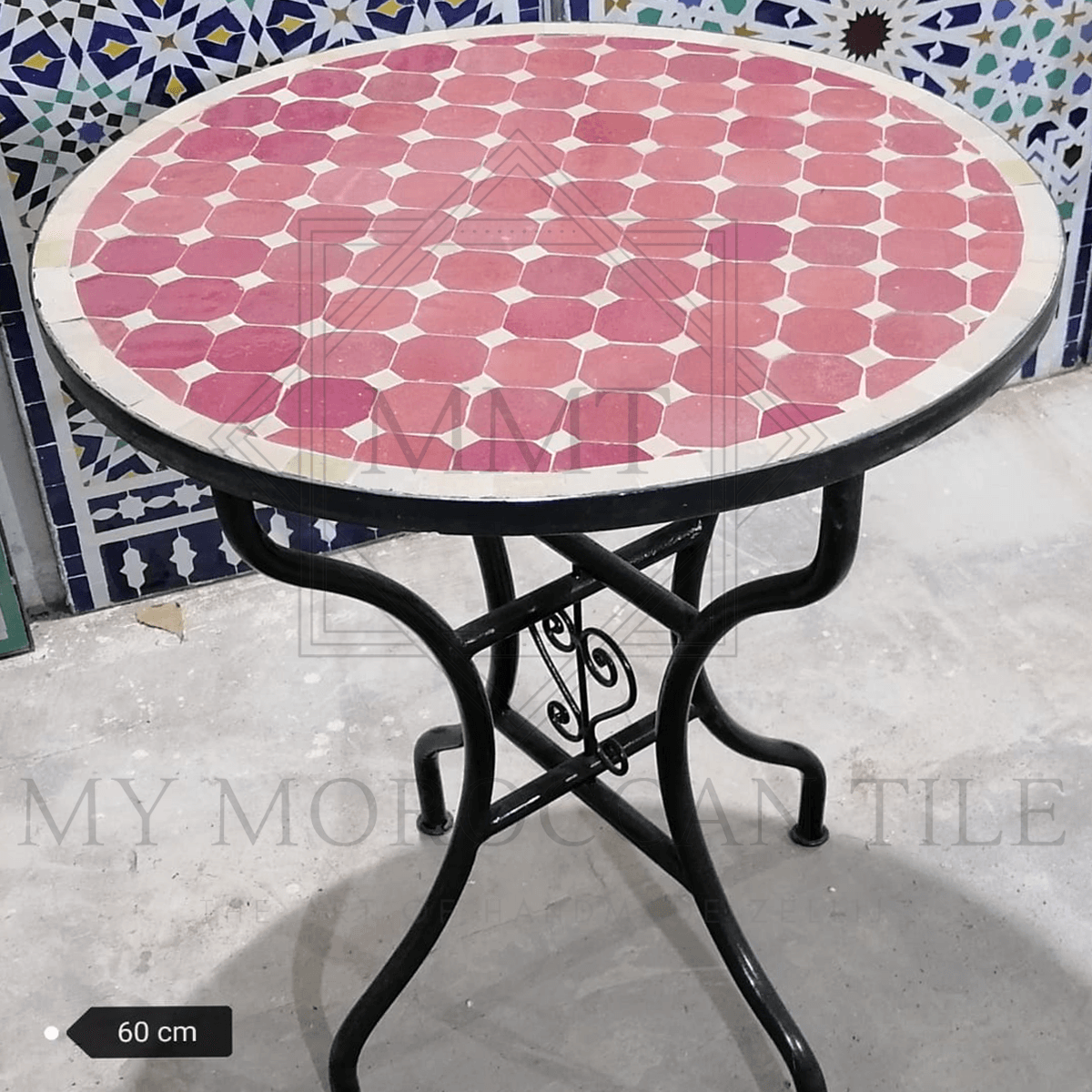Handmade Moroccan Mosaic Table 2188-03