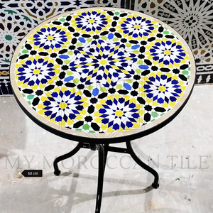 Handmade Moroccan Mosaic Table 2116-01