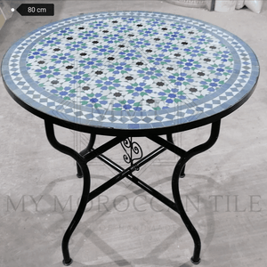 Handmade Moroccan Mosaic Table 2108-15