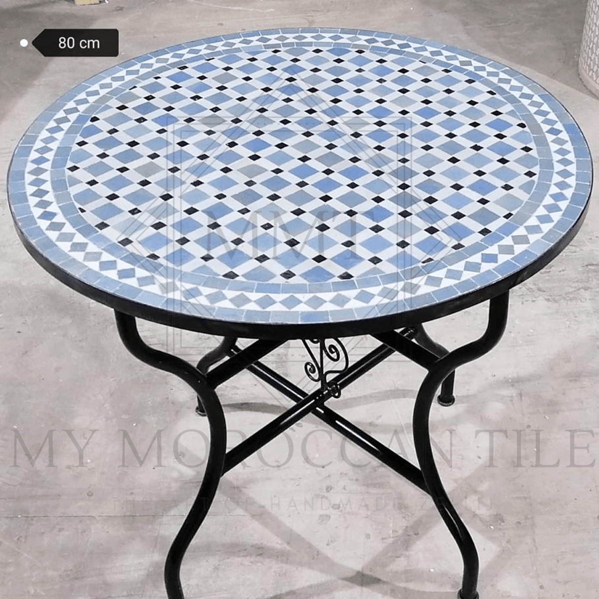 Handmade Moroccan Mosaic Table 2104-05