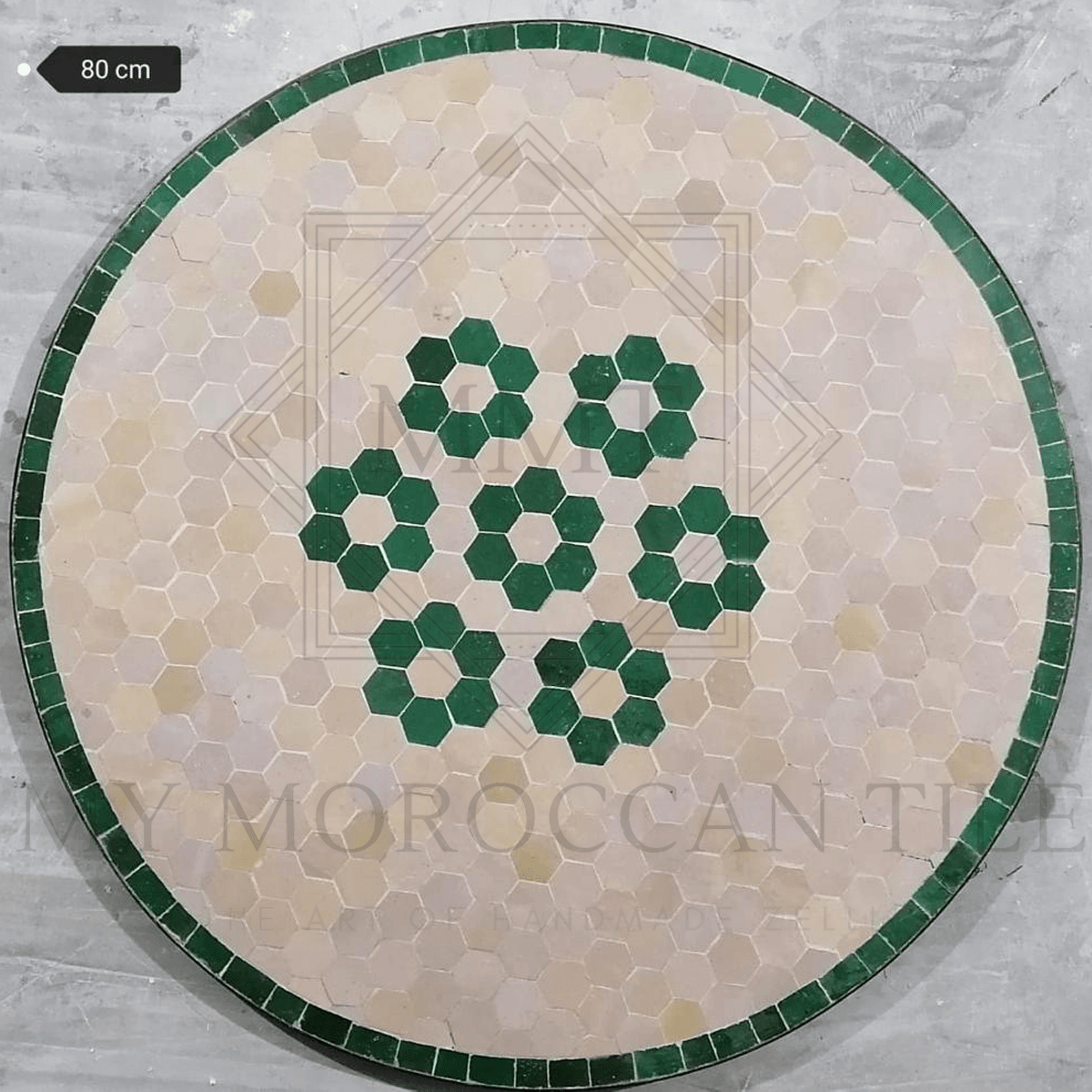 Handmade Moroccan Mosaic Table 2106-06