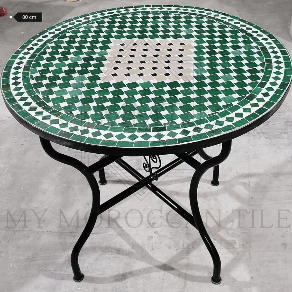 Handmade Moroccan Mosaic Table 2111-02