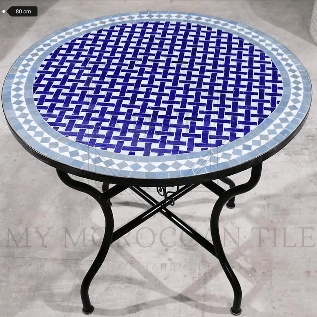 Handmade Moroccan Mosaic Table 2104-07