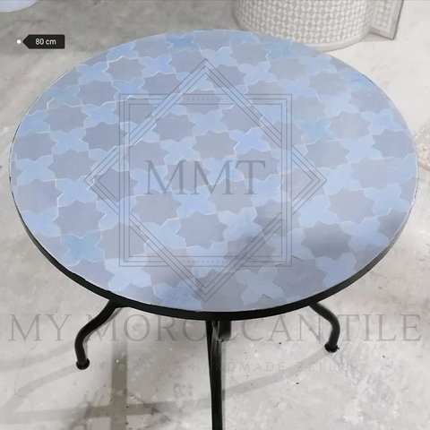 Handmade Moroccan Mosaic Table 2106-09