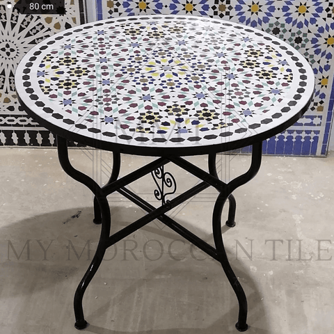Handmade Moroccan Mosaic Table 2108-21