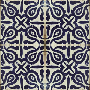 Handpainted tiles and spanish tiles by Maroc Architecture et Zellij company