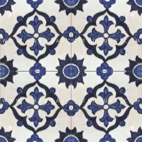 handpainted moroccan tiles