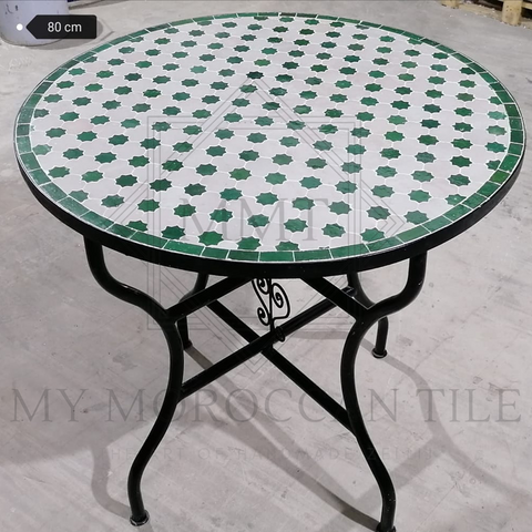 Handmade Moroccan Mosaic Table 2104-06