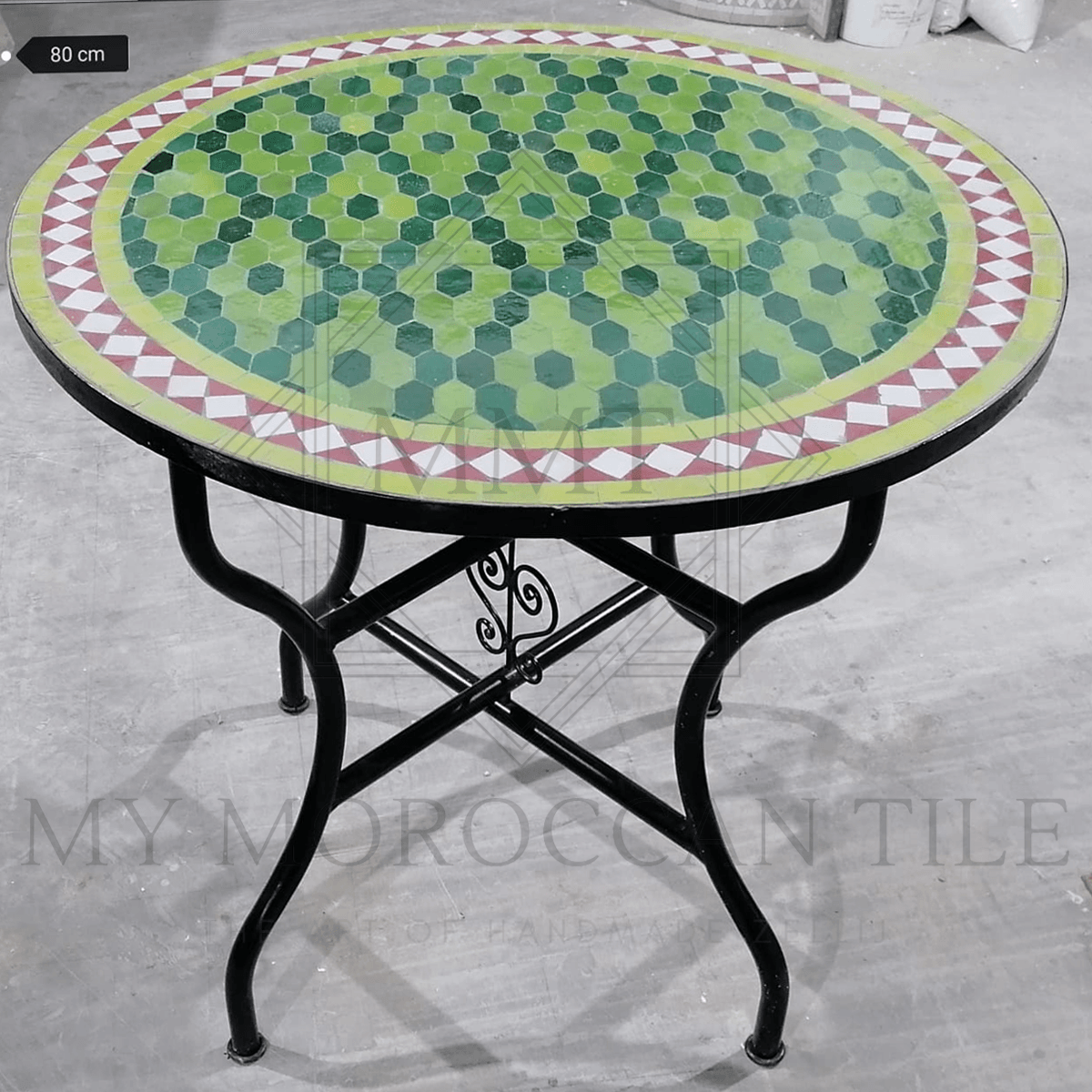 Handmade Moroccan Mosaic Table 2106-07