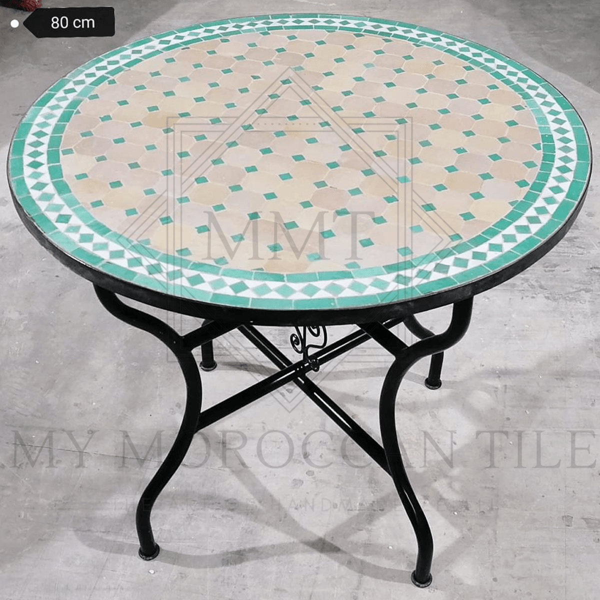 Handmade Moroccan Mosaic Table 2188-08