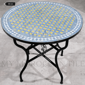 Handmade Moroccan Mosaic Table 2106-08