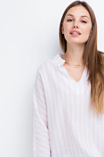 Light Weight Pullover Blouse