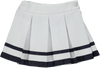 White & Navy Blue Skirt
