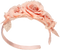 Pink Hairband With Flowers