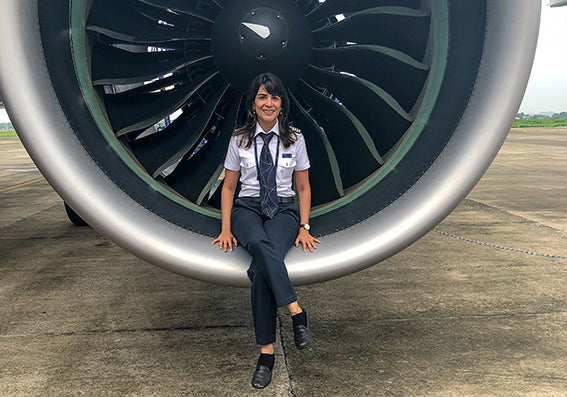 An Interview with Aashti Sindhu - 'That Vegan Pilot'