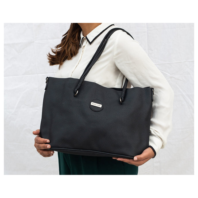 Absolute Mojo Vegan Leather Tote - Broke Mate