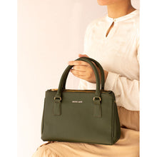 Load image into Gallery viewer, Saturdaze Olive Double Zip Satchel Bag - Broke Mate