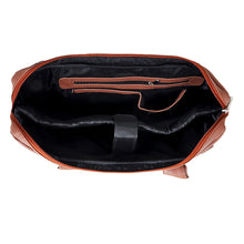 Load image into Gallery viewer, 14.5 Inch  Brown Leather  Laptop Bag