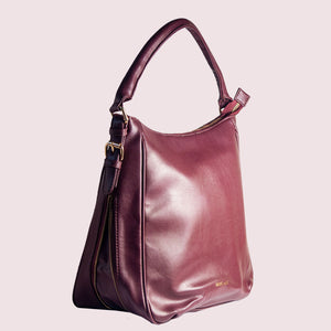 Wednesday Wine Hobo Handbag - Broke Mate