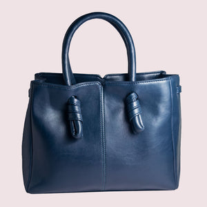 Sunday Blues Knot Handbag - Broke Mate