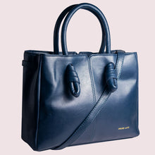 Load image into Gallery viewer, Sunday Blues Knot Handbag - Broke Mate