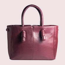 Load image into Gallery viewer, Sunday Maroon Knot Handbag - Broke Mate