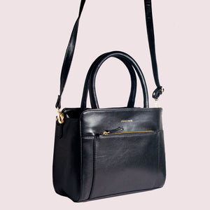 Friyay Coal Satchel Bag - Broke Mate