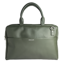 Load image into Gallery viewer, Laptop Olive Messenger Bag - Broke Mate