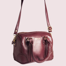 Load image into Gallery viewer, Tuesday Burgundy Women's Satchel - Broke Mate