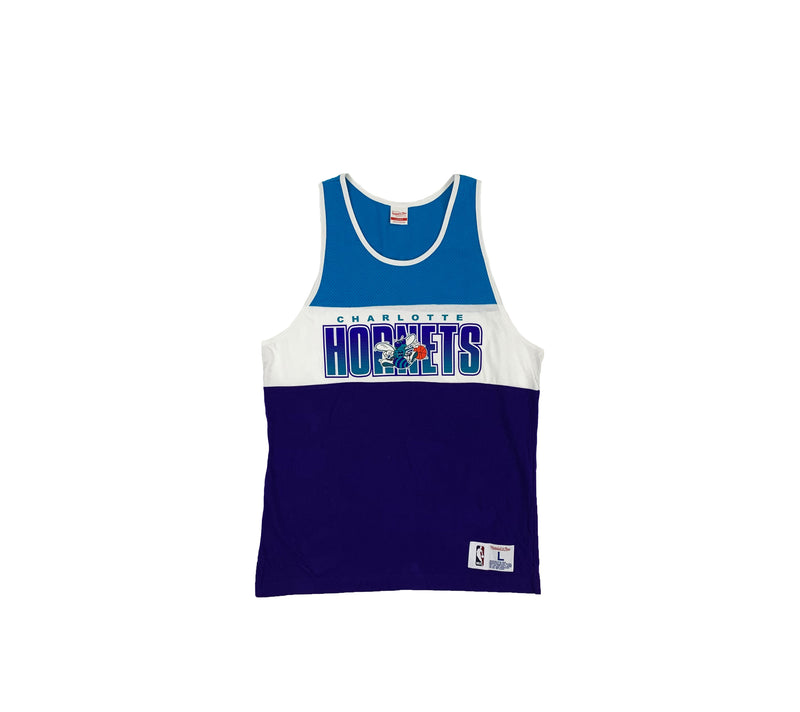 a23c740ad80704 CHARLOTTE HORNETS COLOR BLOCK TANK TOP - TheVoid LA