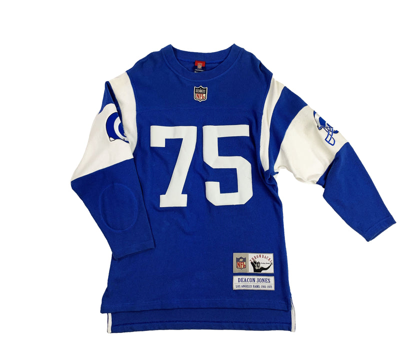 103ffa0dc29 VINTAGE DEACON JONES GRIDIRON CLASSIC LOS ANGELES RAMS JERSEY ...