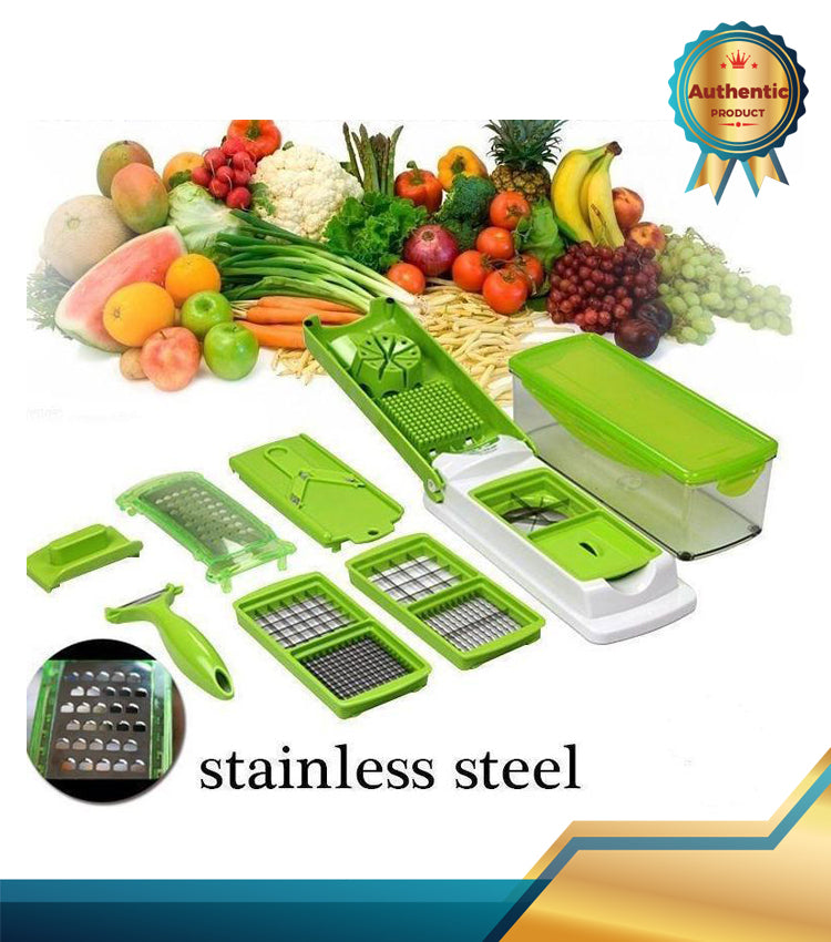 HOT! ALL IN ONE DICER - VEGETABLE FRUIT SLICER/CUTTER