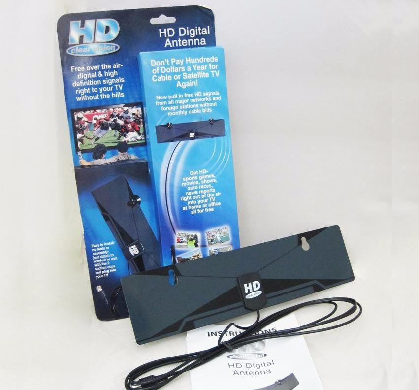 HDTV ANTENNA WITH AMPLIFIER SIGNAL BOOSTER INDOOR