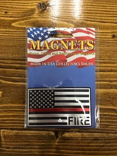 Fire Flag Magnet