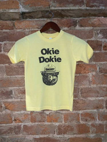 Okie Dokie Smokey Kids Tee