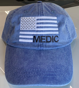 Medic Flag Low Profile Hat