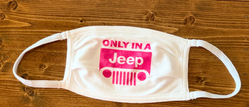 Only In A Jeep Mask