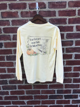 Fall Front Porch Pocket Long Sleeve