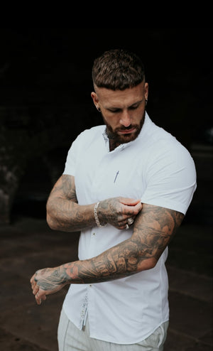 Unforgivable Short Sleeve Muscle Fit Shirt